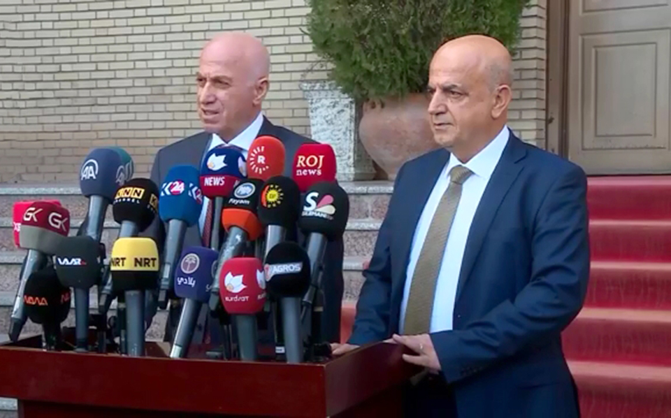 KDP meets with Gorran to speed up KRG formation talks in Sulaimani